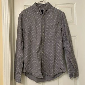 Men's American Eagle Long Sleeve Button Down